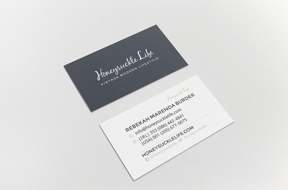 Honeysuckle Life Business Cards