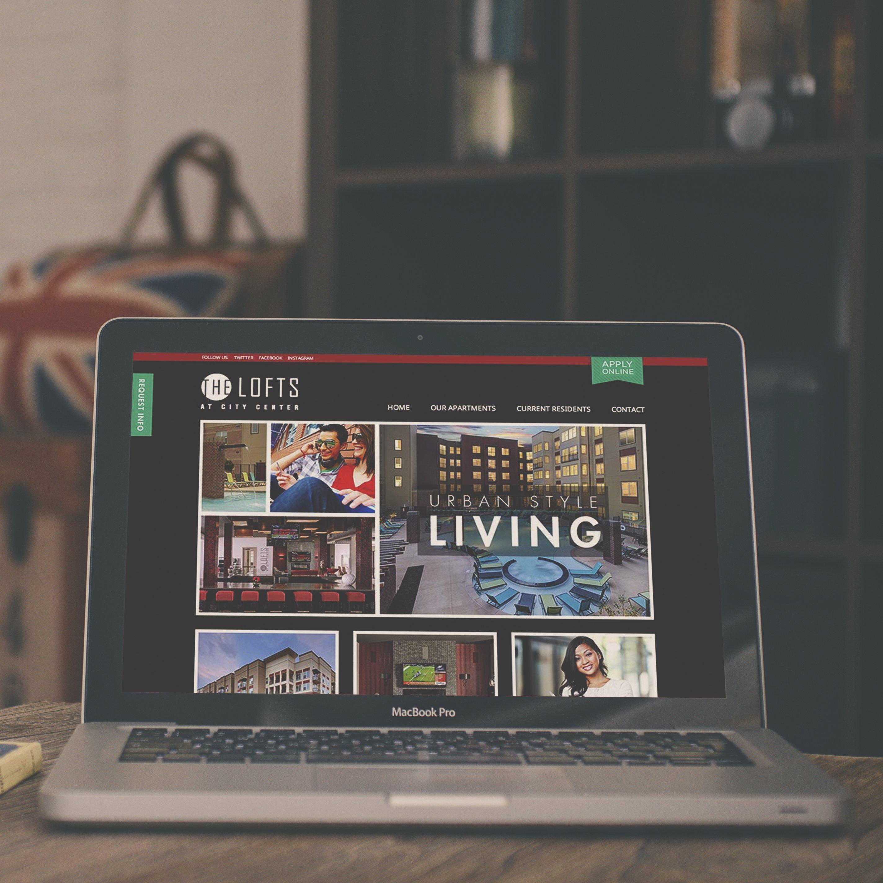 Student Housing Web Design