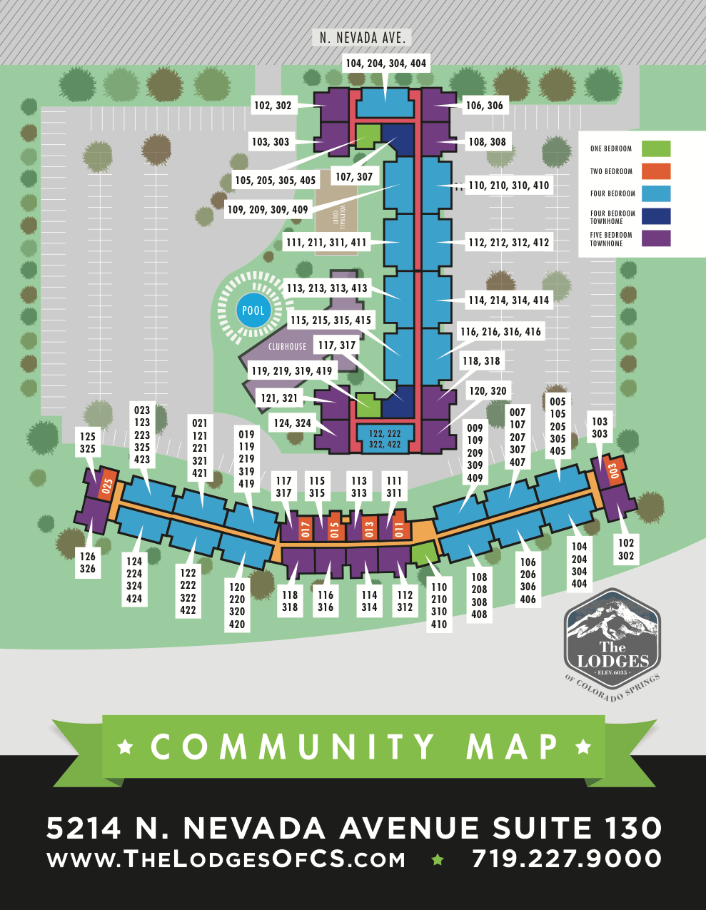 Student Housing Graphic Design